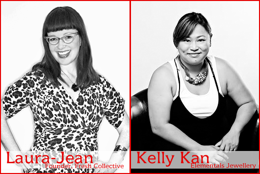 Our Style Coaches for the evening... Laura-Jean Bernhardson and Kelly Kan!