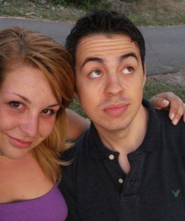 This is me and Fern on our first date, fresh out of high school. Weren't we (almost as) cute (as we are now)?