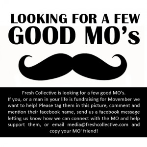 Growin' a Mo? Let us know!